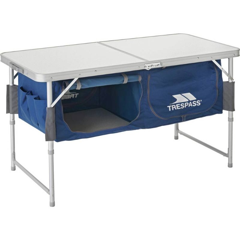 Folding Table with storage